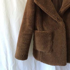 Jackets & Blazers - Teddy bear peacoat